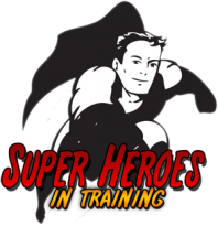 Super Heroes in Training's Logo